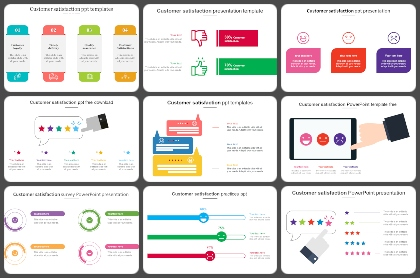 Customer satisfaction Powerpoint Templates