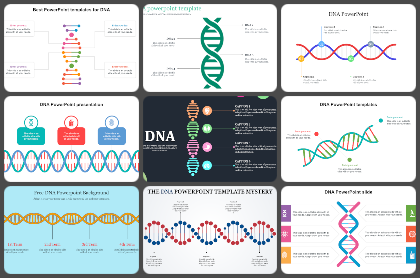 DNA Powerpoint Templates