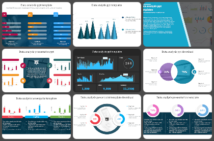 Data Analysis Powerpoint Templates