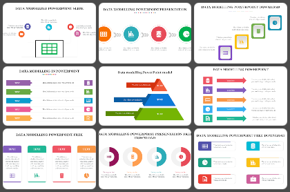 Data Modelling Powerpoint Templates