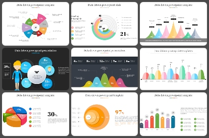 Data-Driven Analytics Powerpoint Templates