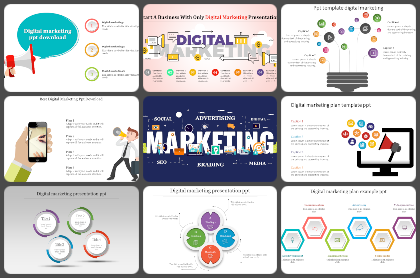 Digital marketing Powerpoint Templates