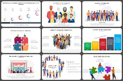 Diversity Powerpoint Templates