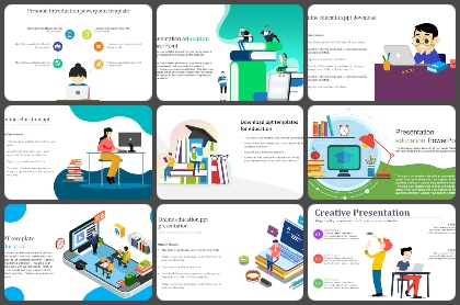 E-Learning Powerpoint Templates