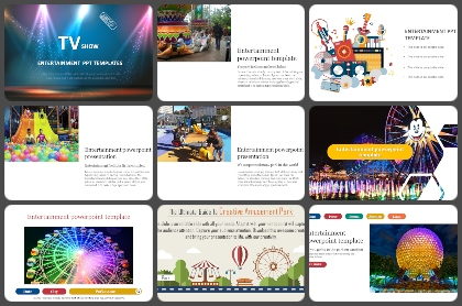 Entertainment Powerpoint Templates