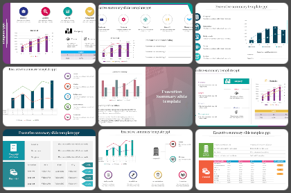 Executive summary Powerpoint Templates