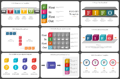 FIFO Powerpoint Templates