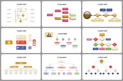 FlowChart Powerpoint Templates