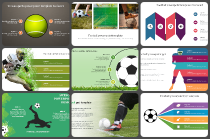 Foot ball Powerpoint Templates