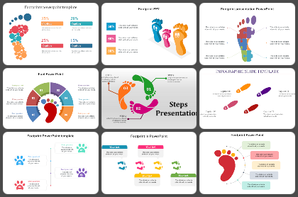 Footprint Powerpoint Templates