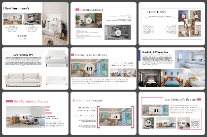Furniture Powerpoint Templates