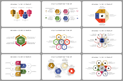 Hexagonal Powerpoint Templates