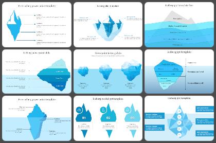 Iceberg Powerpoint Templates