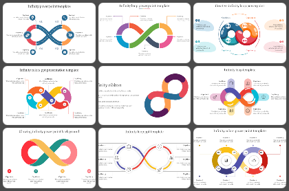 Infinity loop Powerpoint Templates