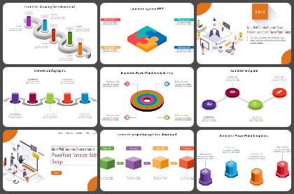 Isometrics Powerpoint Templates