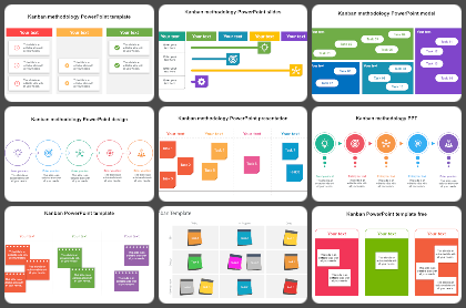Kanban methodology Powerpoint Templates