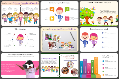 Kids Powerpoint Templates