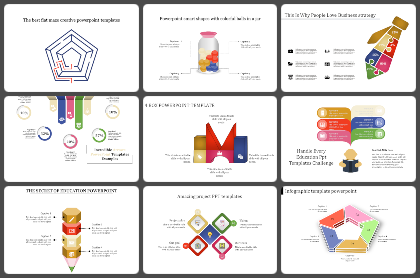 Layered - Mixed Powerpoint Templates