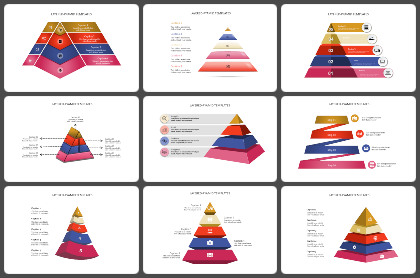 Layered - Pyramid Powerpoint Templates