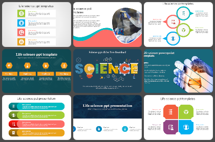 Life science Powerpoint Templates