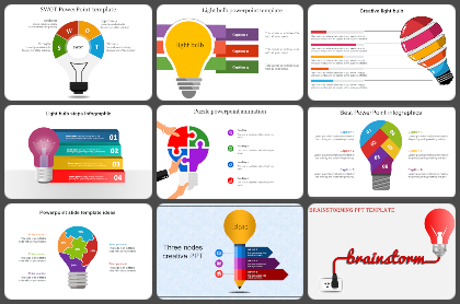 Light Bulb Powerpoint Templates