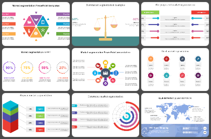 Market segmentation Powerpoint Templates