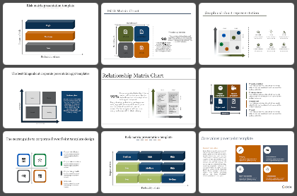 Matrix Powerpoint Templates