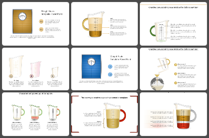 Measures Powerpoint Templates
