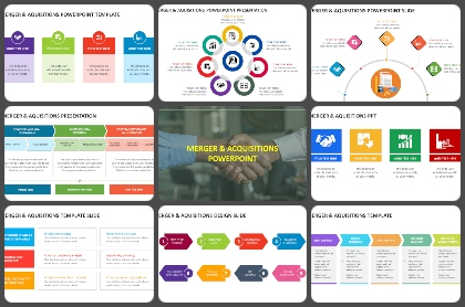 Merger & Aquisitions Powerpoint Templates