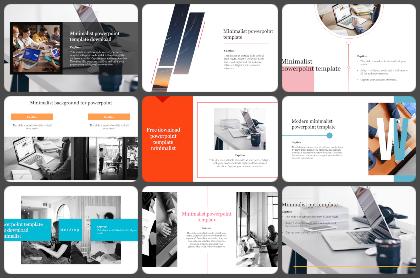Minimalist Powerpoint Templates