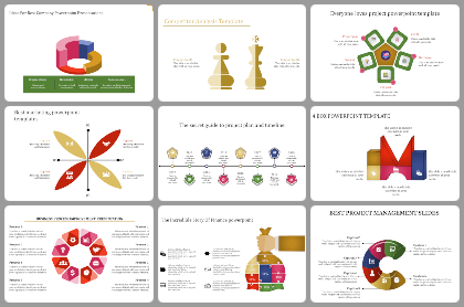 Mixed Shapes Powerpoint Templates