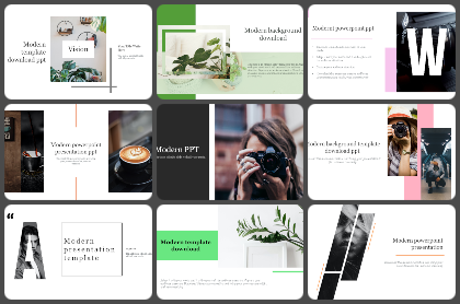 Mordern PPT Powerpoint Templates