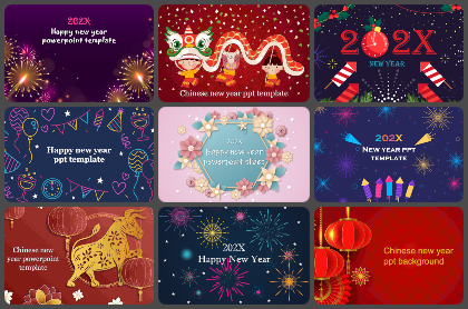 New year Powerpoint Templates