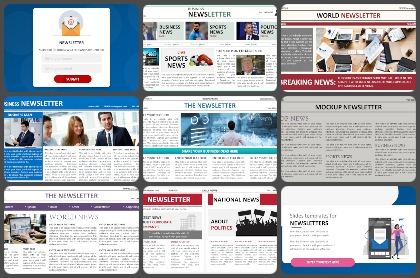 Newsletter Powerpoint Templates