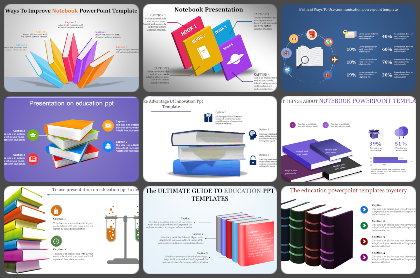 Note Books Powerpoint Templates