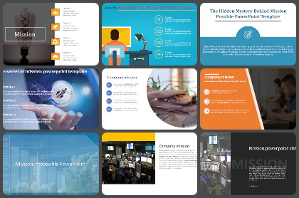 Our Mission Powerpoint Templates