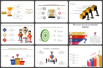 Our Goals Powerpoint Templates