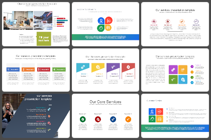 Our Service Powerpoint Templates