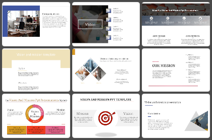 Our Vision Powerpoint Templates