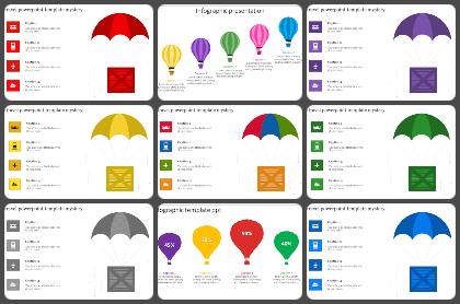 Parachute Powerpoint Templates
