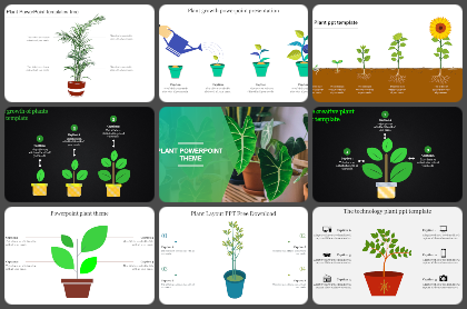 Plant Powerpoint Templates