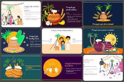 Pongal Powerpoint Templates
