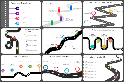 Product Roadmap Powerpoint Templates