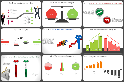 Profit & Loss Powerpoint Templates