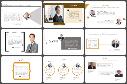Quotes Powerpoint Templates