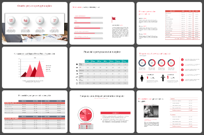 Report Powerpoint Templates