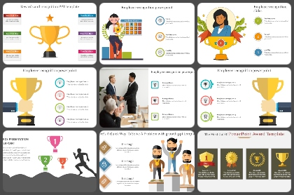 Rewards & Recognition Powerpoint Templates