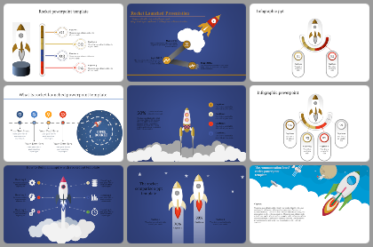 Rocket Powerpoint Templates