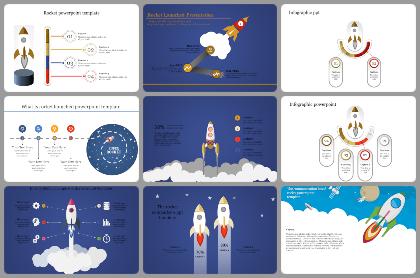 Rocket Powerpoint Templates