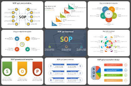 SOP Powerpoint Templates